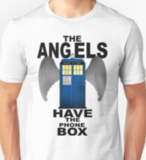 The Angels Have The Phonebox - Doctor Who T-Shirt