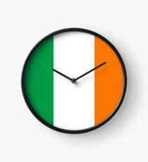 Flag of Ireland - High quality authentic version Clock