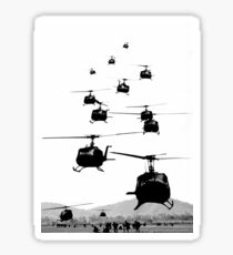 UH1 Huey Helicopters Sticker