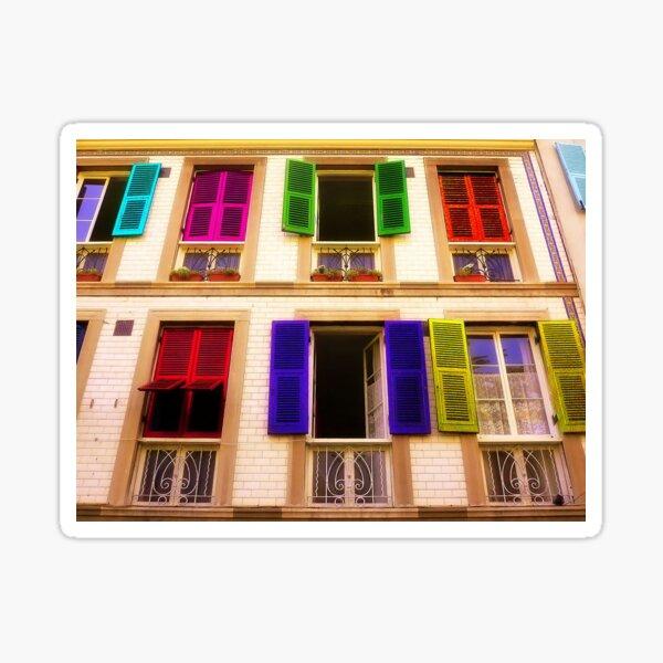 Colourful Windows Sticker