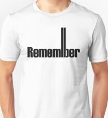 Remembering 9/11 Unisex T-Shirt