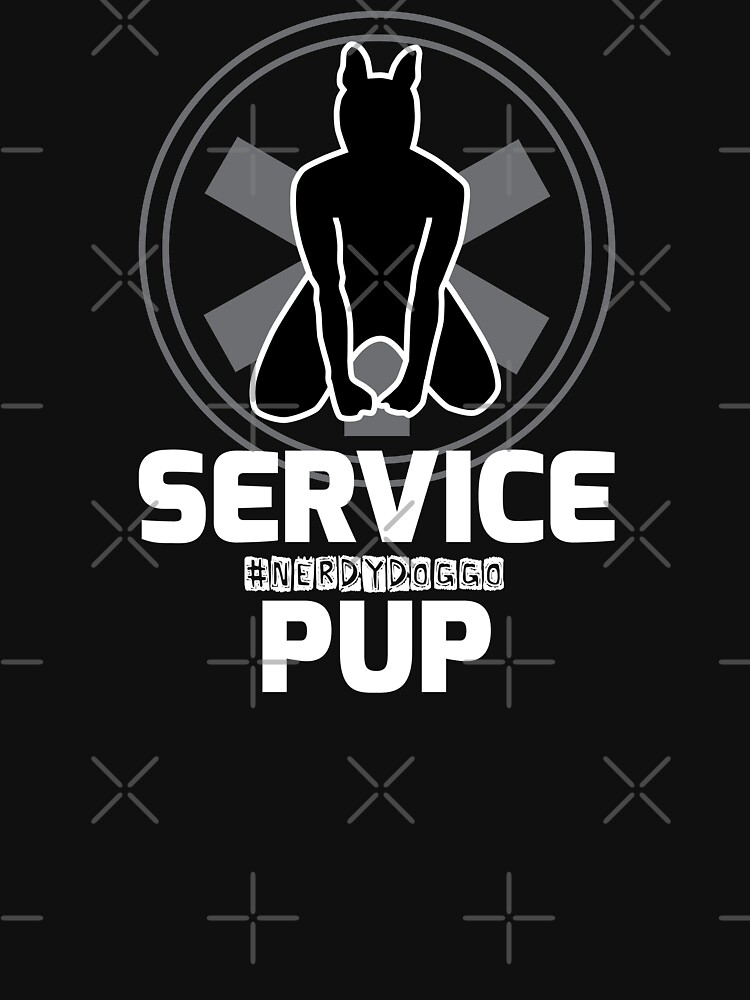 Nerdy Doggo Service Pup by NerdyDoggo