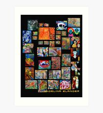 Art Collection Art Print