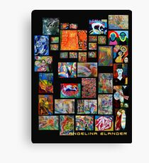 Art Collection Canvas Print