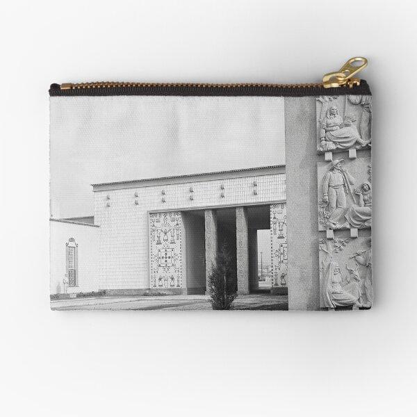 Museu de arte popular, lisboa Portugal  Zipper Pouch