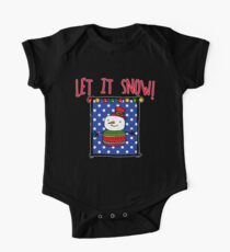 Let it Snow  with Snowman Kids Clothes