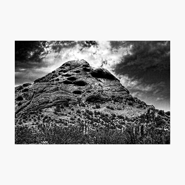 Papago Peak -- Phoenix, Arizona Photographic Print