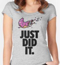 Bye Bye Diet Women's Fitted Scoop T-Shirt