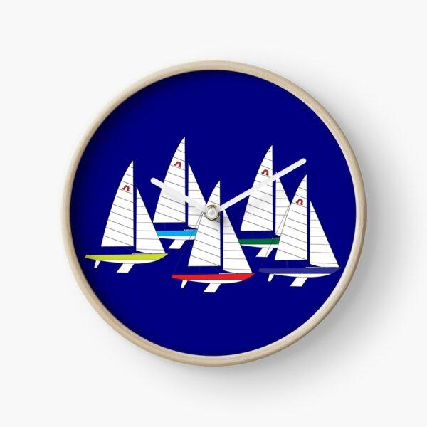 Soling International Keel Boat Racing Class Clock