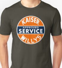 Kaiser Willys Approved Service vintage sign  T-Shirt