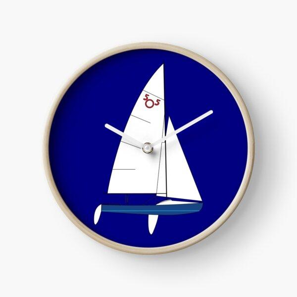 International 505 Sailboat Clock