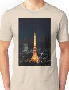 Tokyo Tower Unisex T-Shirt