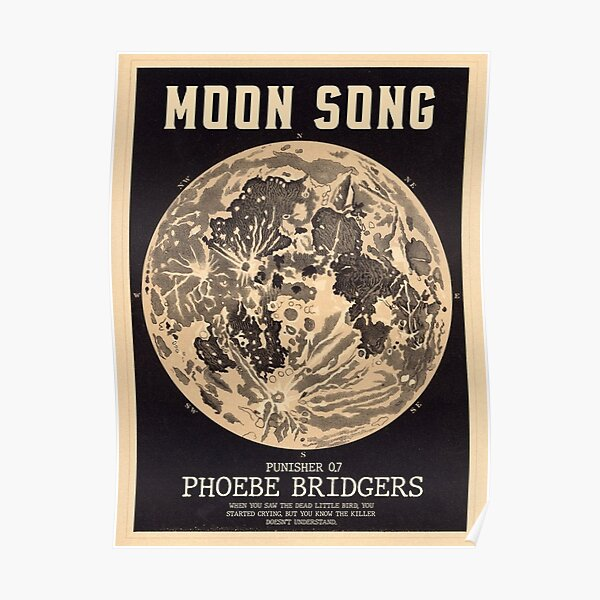 Phoebe Bridgers Moon Song  Poster