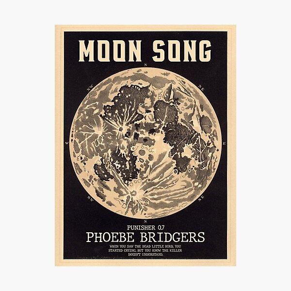 Phoebe Bridgers Moon Song  Photographic Print