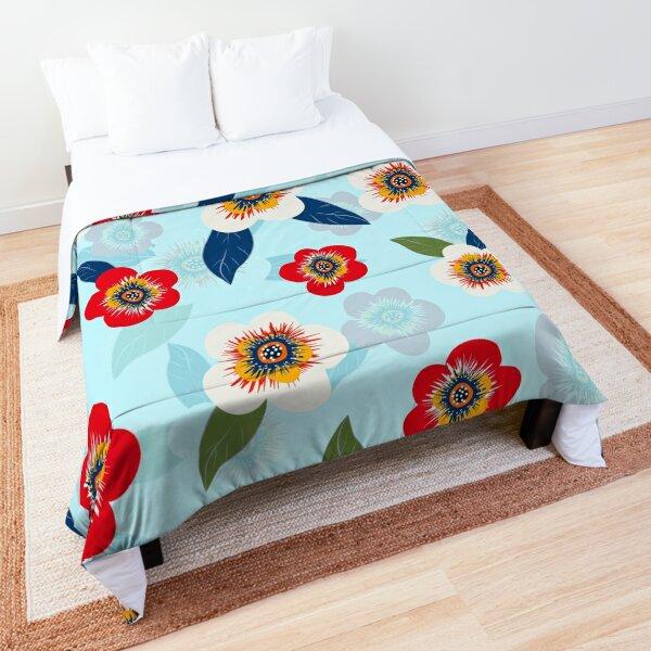 Vintage floral pattern  Comforter