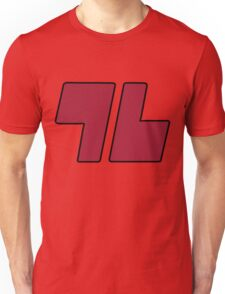 96 Red - Sun and Moon Unisex T-Shirt