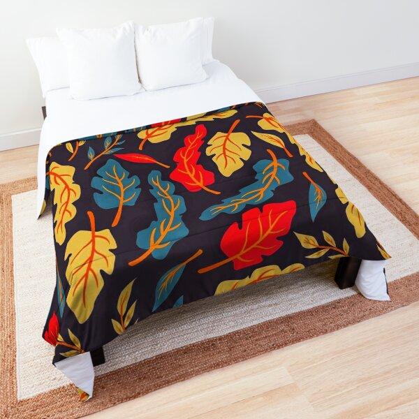 Leaves pattern  Comforter