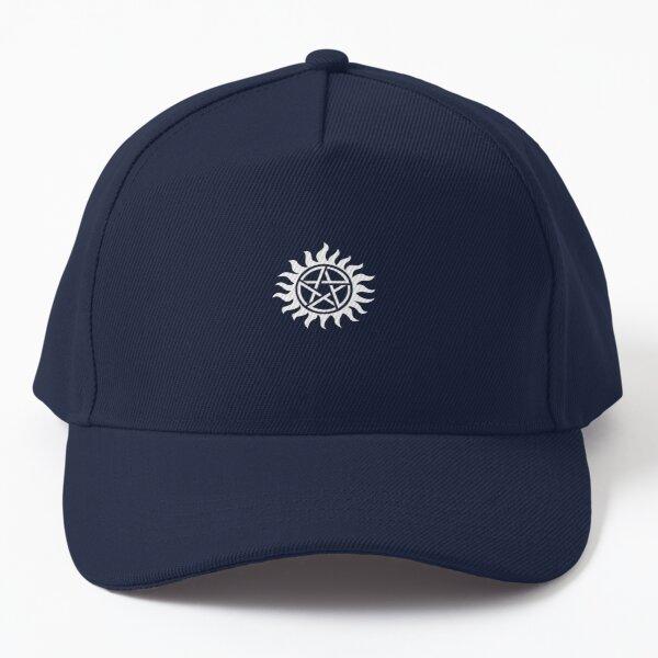 Denom Anti Possession symbol (black) Baseball Cap