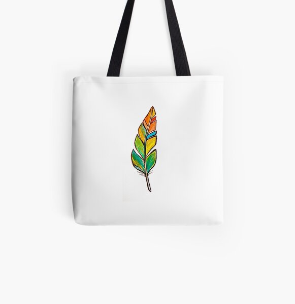 Feather Friend All Over Print Tote Bag