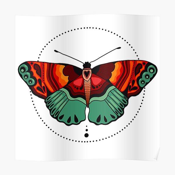 Beauty Butterfly Poster