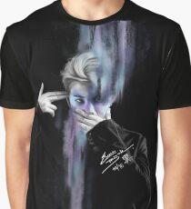 Rap Monster Grafik T-Shirt