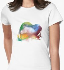 lemming  Womens Fitted T-Shirt