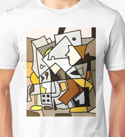 After Picasso - Cubist Theory Unisex T-Shirt