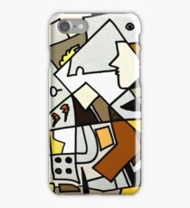 After Picasso - Cubist Theory iPhone Case/Skin