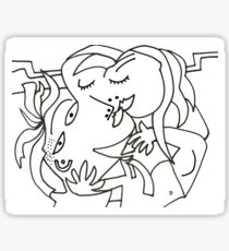 After Picasso - B21 Kiss Sticker