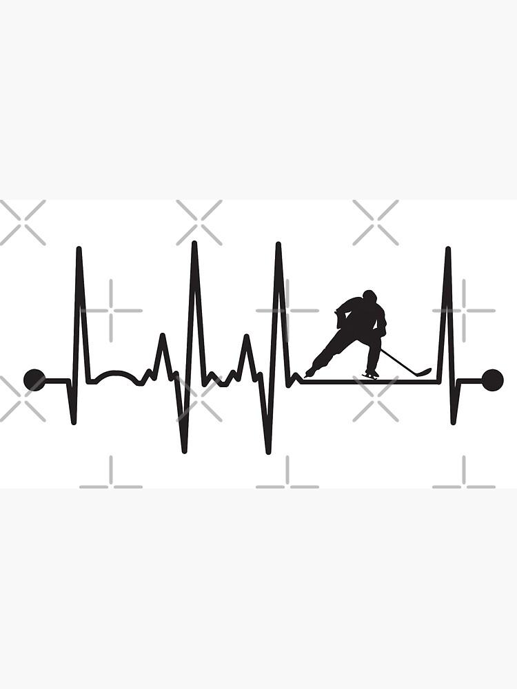 Hockey Heartbeat by teesaurus