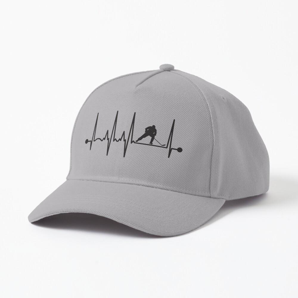 Hockey Heartbeat Cap