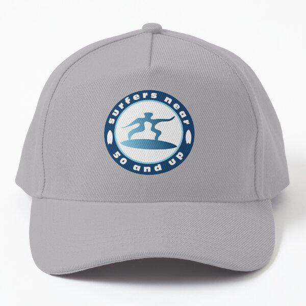 Surfer Near 50 Circle Logo Baseball Cap