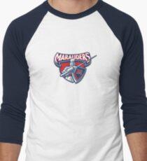 Miller Marauders Logo Men's Baseball ¾ T-Shirt