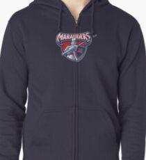 Miller Marauders Logo Zipped Hoodie
