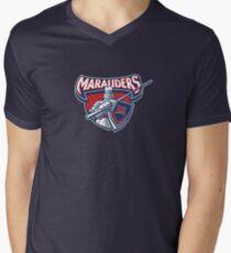 Miller Marauders Logo Men's V-Neck T-Shirt