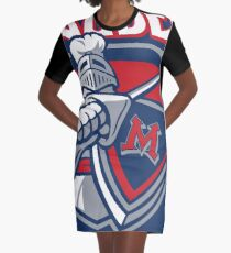 Miller Marauders Logo Graphic T-Shirt Dress