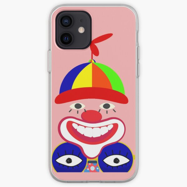 No face Circus Crown- Halloween Circus Crown iPhone Soft Case