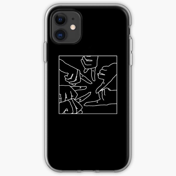 Finger Matching Tattoos PLL Merch (Black) iPhone Soft Case
