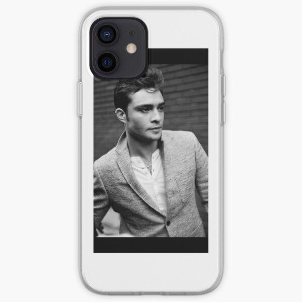 Ed Westwick Funda blanda para iPhone