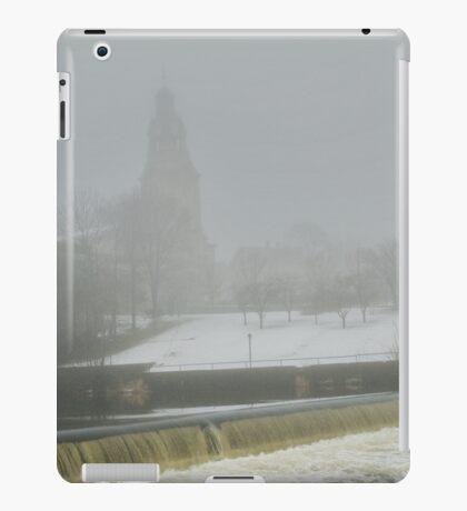 Slater Mill Dam in Winter iPad Case/Skin