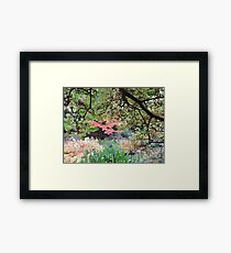 Autumn: Branches Lowered Framed Print