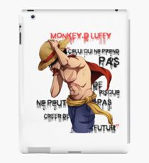 Monkey D. Luffy Futur iPad Case/Skin