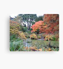 Autumn: Arrived Canvas Print