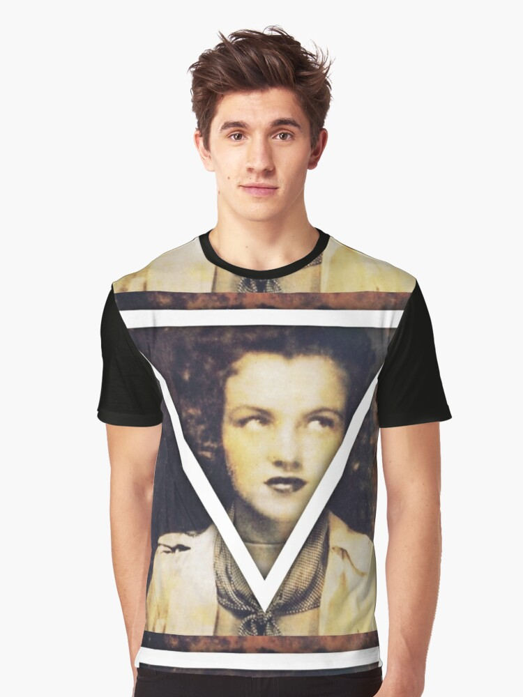 Triangle to Truth Graphic T-Shirt Front