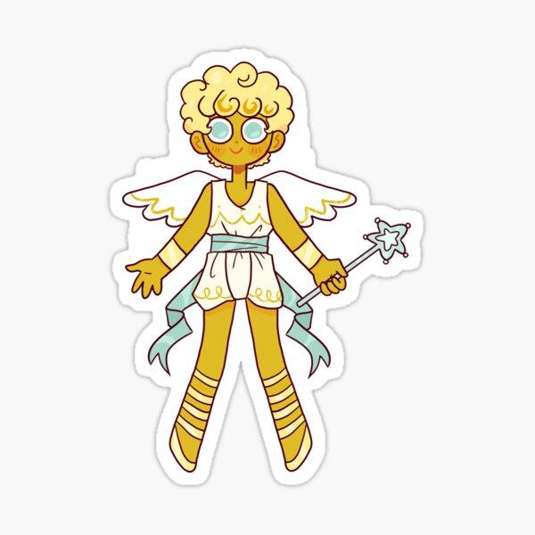 Angel Cookie human Sticker