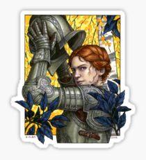 Alanna, the Lioness Sticker