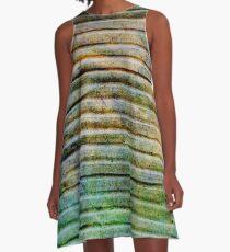 Cardboard Green A-Line Dress