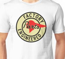 Pontiac Factory Parts vintage sign Unisex T-Shirt