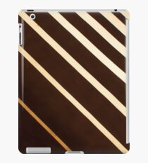 Retro stripe pattern background iPad Case/Skin