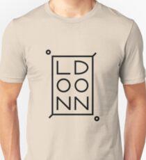 London Black Unisex T-Shirt